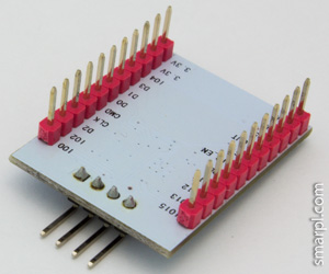 ESP8266 ESP-201 module serial port resoldered